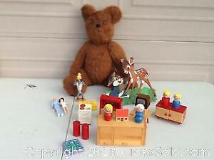 Teddy Bear Doll Furniture From 1950s And More