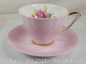 Fine Bone China Soft Pink Possibly From The Fifties