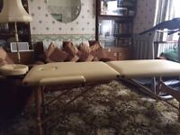 Beauty Therapist Portable Couch, unused, plus carry bag.