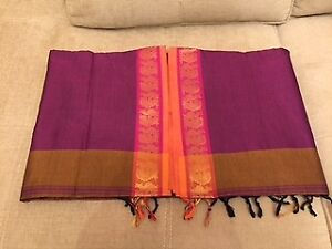 BRAND NEW SILK/CHIFFON/COTTON SAREES WITH BLOUSE FOR SALE...