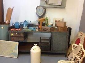 Beautiful large Industrial sideboard or Desk