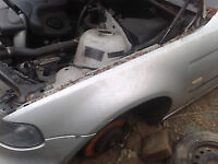 E46 COMPACT 320TD Bmw WING titansiver silver BREAKING FOR PARTS