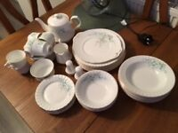 Royal Stafford Bone China 42 Piece Dinner & Tea Service