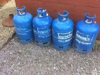 For sale Calor gas bottles