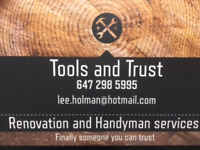 Renovation/Contractor and Handyman services
