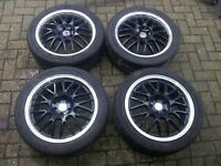 "BBS LM 17"" 5x100 replica/look a like alloys"