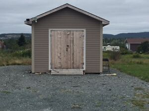 16/18 STORAGE SHED FOR RENT