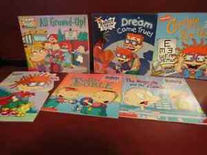 Lot of 7 Rugrats childrens books in excellent condition