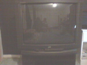 tv with stand good condition