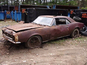 ISO (WANT) looking for 67,68,69 Camaro project