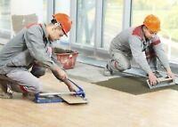 ISO flooring installer