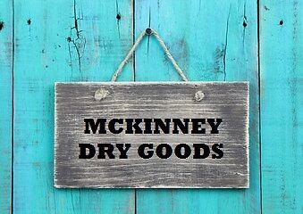 MCKINNEY DRY GOODS