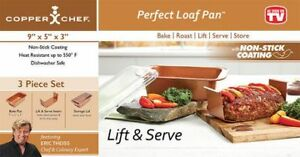 BRAND NEW IN BOX - Copper Chef Perfect Loaf Pan