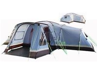 Montpellier 10 family tent - sleeps 8 with 4 seperate sleeping compartments. Only used 3 times.