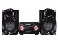 Panasonic SC-AKX400EBK 600 W Speaker System with Wireless Audio Streaming and 2 GB Internal Memory