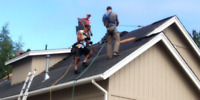 Roofing (9024120439) repairs, new installs, siding, gutters etc.