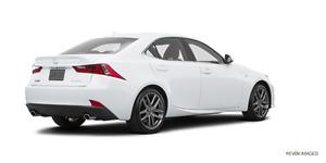 2016 Lexus IS 300 - $43,000