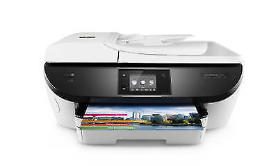 HP Officejet 5740 All-in-One Inkjet Printer - Black - NEW