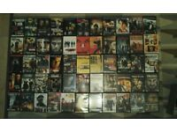 Job lot of 55 DVD's