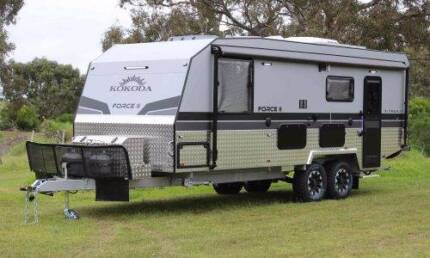 2017 KOKODA FORCE II X TRAIL GT BRAND NEW, OFF ROAD, CUT AWAY