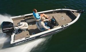 GREAT DEALS ON  BOATS!! Crestliner, G3, & SunCatcher Pontoon