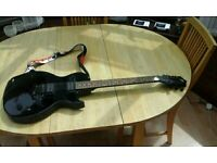 SX Electric Guitar with custom strap