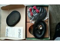 """one pair 6""""x9"""" three-way coaxial speaker system"""