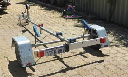 Little Bulldog Boat Trailer