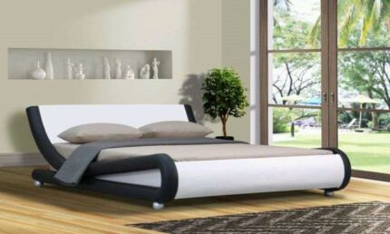 Wanted: Brand new queen size bed frame in pu leather for sale