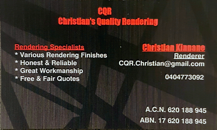 CQR Christian's Quality Rendering