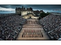 3 TICKETS FOR ROYAL MILITARY TATTOO 18TH AUGUST 10.30 SHOW