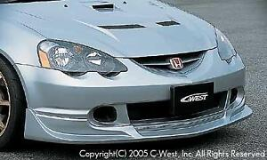 2002-04 RSX CW Type Front Lip Spoiler Urethane NEW!