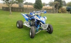 Yamaha yfz 450 race quad