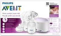 NEW Comfort Double Electric Breast Pump by Philips Avent