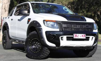 2012 Ford Ranger Ute RAPTOR UPGRADE 4X4 3.2 REGO AND RWC