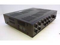 TOA ELECTRONICS A-1706, 2 Zone Mixer Amplifier, 60W RMS 100V