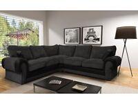 Large Ashley corner sofa brand new