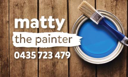 Matty the Painter