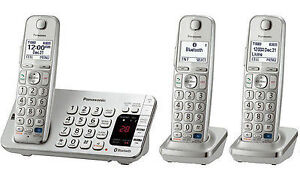 Panasonic KXTGE270C Digital Cordless Phone Answering System