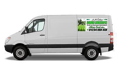 Magnetic Van Signs Ebay