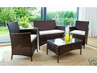 Rattan Garden Furniture Set BRAND NEW IN BOX