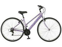 "Apollo Haze Women's Hybrid Bike – 17"" - £85 (RRP £139.99)"