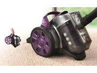 NEW Beldray BEL0590SAFOB 700W Compact Bagless Cylinder Vacuum Cleaner - Grey