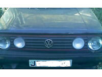 Mk2 Vw Volkswagon Golf rear bech seat can also deliver.