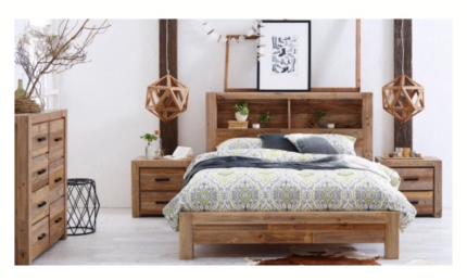 Coolmore queen bedroom with mattress