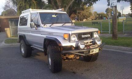 1986 Toyota LandCruiser Coupe FJ73 FRP MWB Traralgon Latrobe Valley Preview