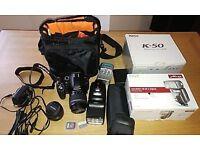 Pentax K-50 DSLR camera bundle