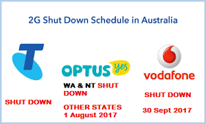 OPTUS & VODAFONE 2G SHUT DOWN - NEW UNLOCKED 3G & 4G AVAILABE NOW Castle Hill The Hills District Preview