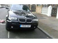 BMW X3 AUTO BLACK EXELENT CONDITION