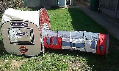 LONDON UNDERGROUND PLAY TENT AND TUNNELL & LONDON UNDERGROUND PLAY TENT AND TUNNELL | in Uxbridge London ...
